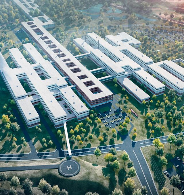 CMB si aggiudica l'ospedale di Odense in Danimarca